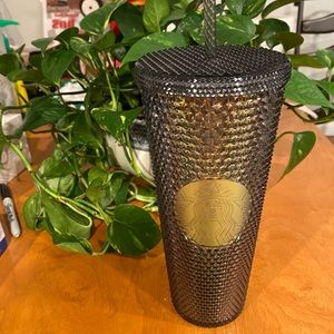 Starbucks Other - BNWT 2020 Black Iridescent Studded 24 oz Cold Cup